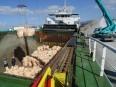 汚染土船積2